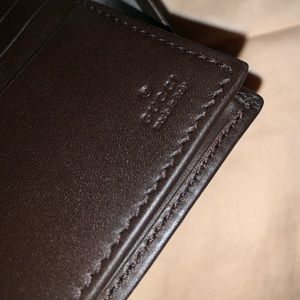 Gucci Bags - Gucci Supreme Canvas Wallet- Green/Red/Gold